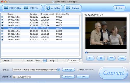 Blu Ray to iMovie Converter