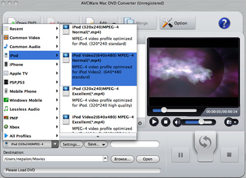 Blu Ray to iPod Converter for Mac