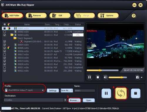 Blu Ray to iPod Converter