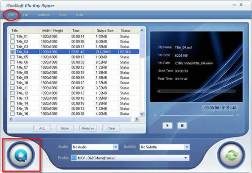 Blu Ray to MKV Converter, Blu-Ray to MKV