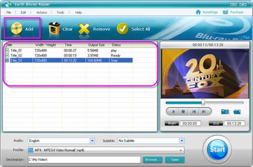Blu-Ray to MP4, Blu Ray to MP4 Converter