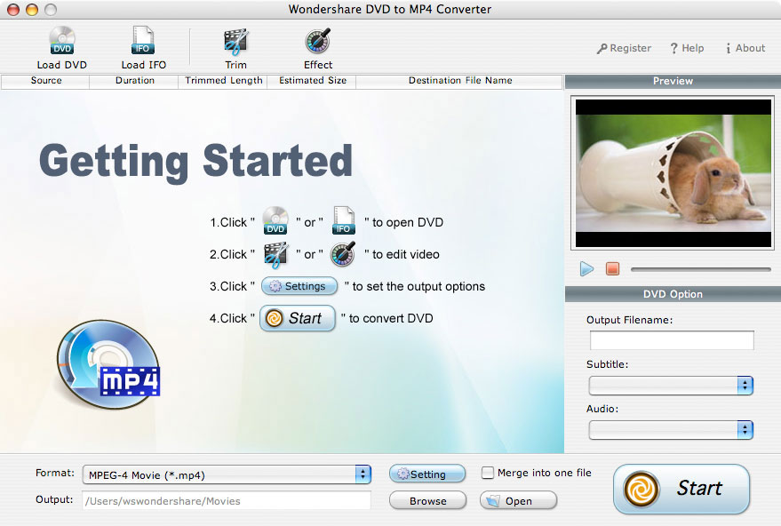 IFO to MP4 Converter for Mac