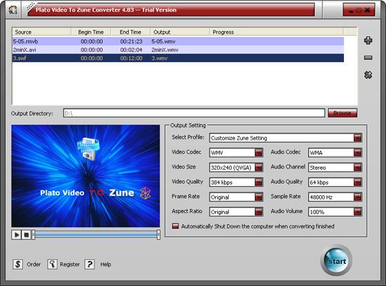 MP4 to Zune Converter