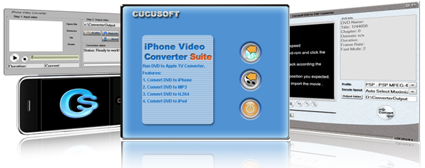MPE to iPhone MP4 Converter Suite