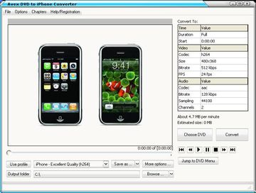 IFO to iPhone Converter