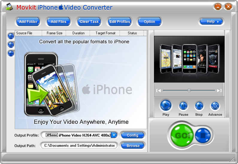 OGM to iPhone MP4 Video Converter