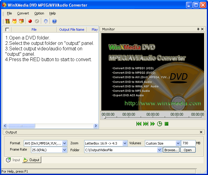 Convert ASF to iPod Video with Winxmedia avi to ipod video converter
