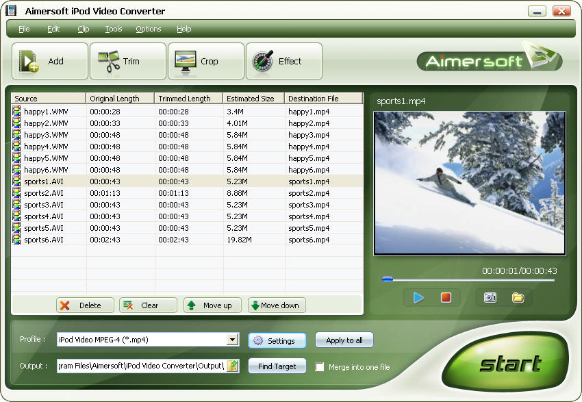 M4V to MP4 Video Converter