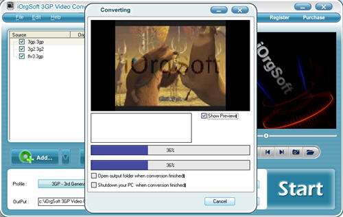 Convert 3GP to Windows Media Player with 3GP Video Converter
