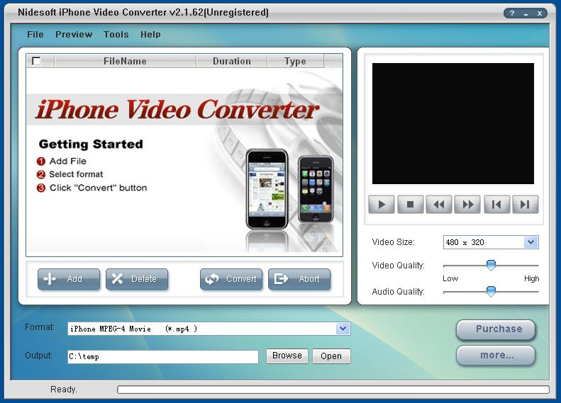 iPhone MP4 Converter