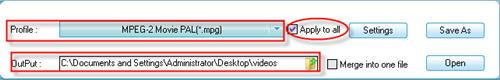 MPEG Video Converter