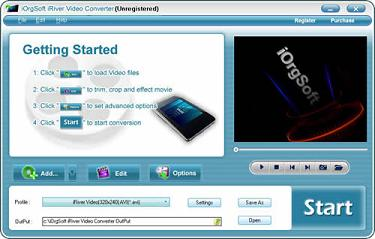 RMVB to iRiver Video Converter