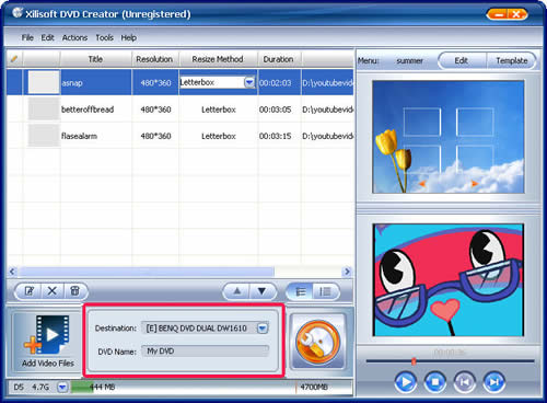 Flip Video to DVD Creator