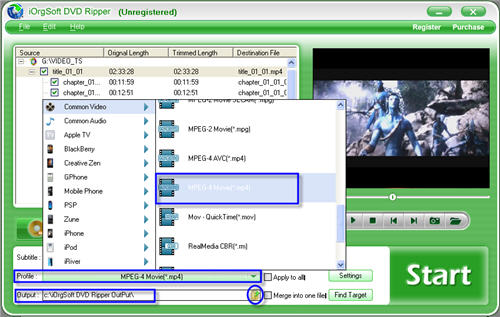 DVD to Nexus One Converter