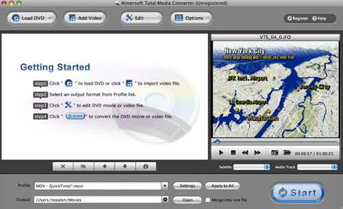 Import HD Video to Final Cut Express