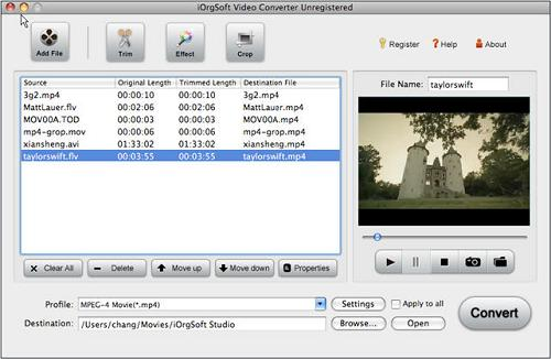 Import RM to Final Cut Express
