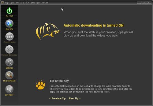 ������ Hulu Downloader 2.3.8.30 ������ huludownloader_interface.jpg