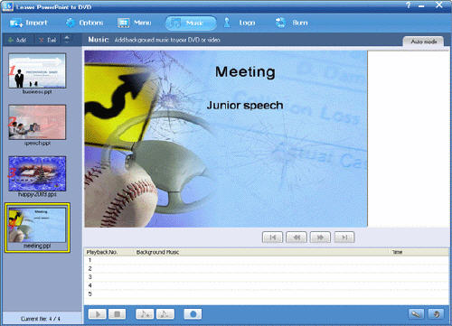 Put powerpoint on DVD with PPT to DVD Converter