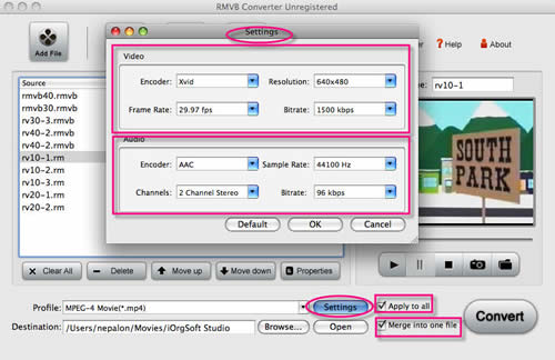 RMVB to Video Converter for Mac.