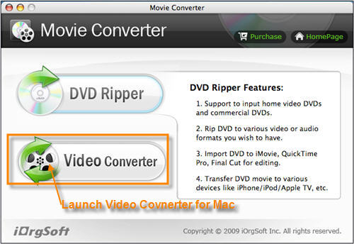 Convert & Import AVI to iMovie.