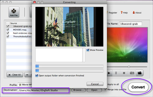 how to open mpeg files