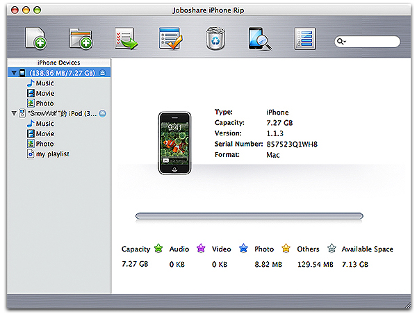 iTunes iPhone Backup