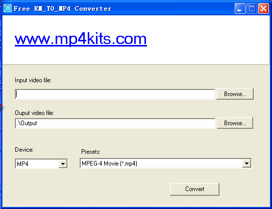 The world best free rm to mp4 converter.