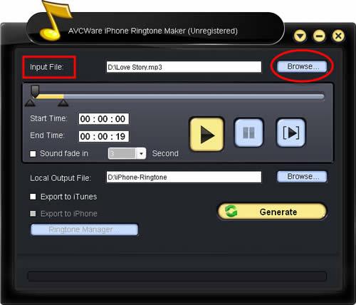 Make iPhone Ringtone with iPhone RingTone Maker