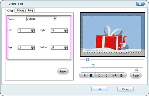 Edit flip video files with flip video eidtor
