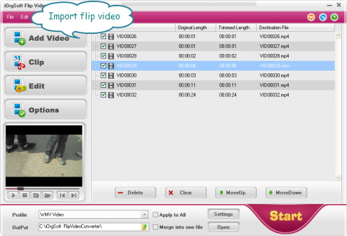 convert/transfer flip video with Flip  video converter
