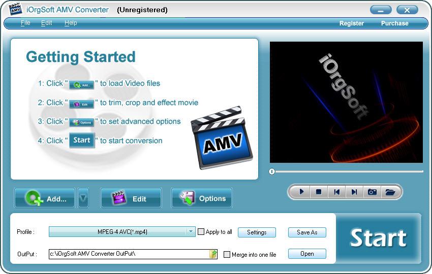 AMV Converter, AMV Video Converter