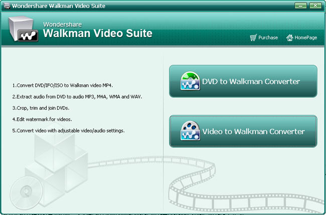 DVD to Walkman Converter