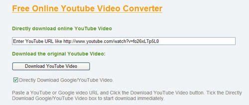 Free download Youtube Video and Convert Youtube Video to Walkman Video.